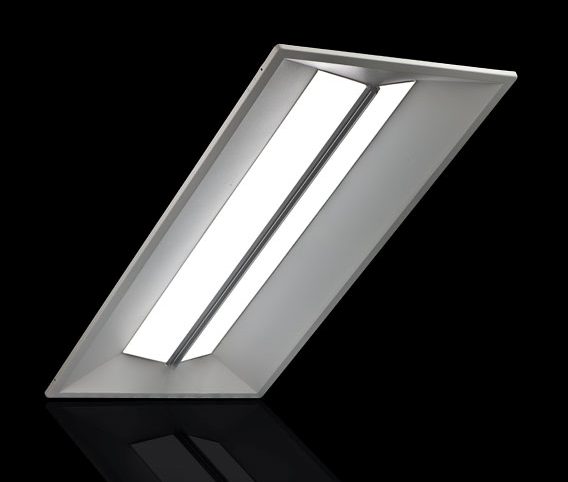 24 X 24 Led Light Fixture: CR24-40LHE-40K – EarthLED.com