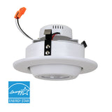 Euri - 4 Inch LED Gimbal Downlight - 10 Watt - 60 Watt Replacement - Dimmable - High CRI