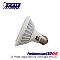 FEIT PerformanceLED G5 PAR30 Shortneck - 15 Watt - 750 Lumens - 38 Degree - 75 Watt Equal
