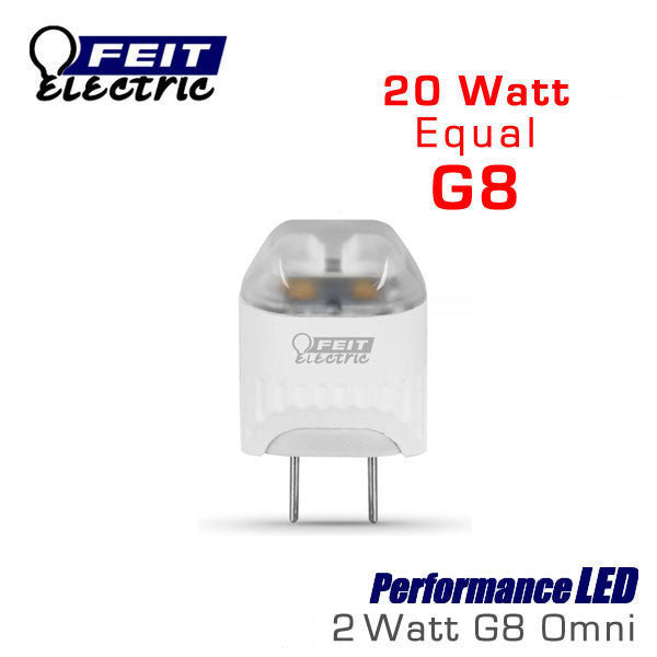 feit led g8 jc led halogen replacement bulb g8 led. Black Bedroom Furniture Sets. Home Design Ideas
