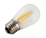 Spotlite USA Edison Collection Vintage LED S14 Filament Bulb - 2 Watt - 25 Watt Equal