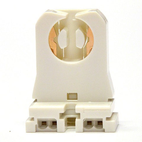Non-Shunted Socket Tombstone Lampholder for T8 LED Fluorescent Replacement lamps