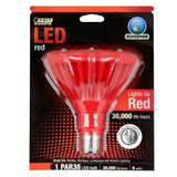 FEIT Red LED PAR38 Outdoor Lamp - 6 Watts - Wet Location Rated