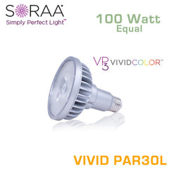 SORAA Vivid PAR30 Long Neck 18.5W - 100 Watt Equal - 95 CRI