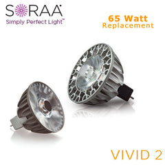 SORAA - Vivid 2 LED MR16 - 11.5 W - 65 W Equal