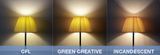 GREEN CREATIVE - Titanium - 6 Watt - A19 - 40 Watt Equal