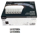 TCP LED A19 6 Pack - 60 Watt Equal - 10W - Non-Dimming