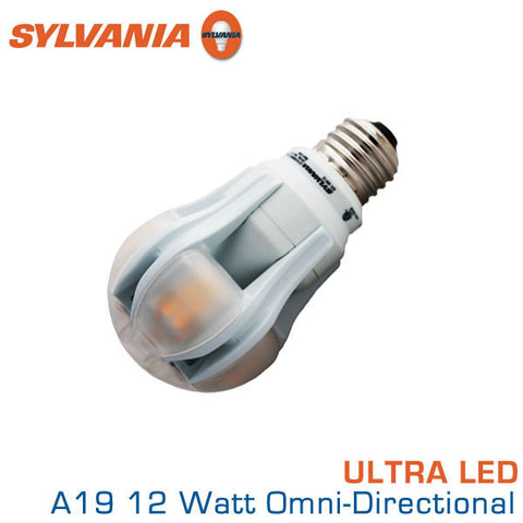 Sylvania Ultra LED A19 - 12 W - Omni-Directional - 60 Watt Replacement - 2700K
