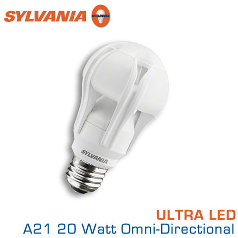 Sylvania Ultra LED A21 - 20 W - Omni-Directional - 100 Watt Replacement - 2700K
