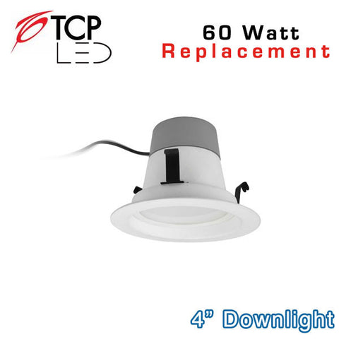 TCP 4 Inch - 10W LED Downlight - 60 Watt Equal