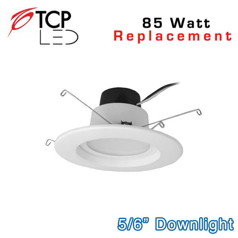 TCP 6 Inch - 14W LED Downlight - 85 Watt Equal