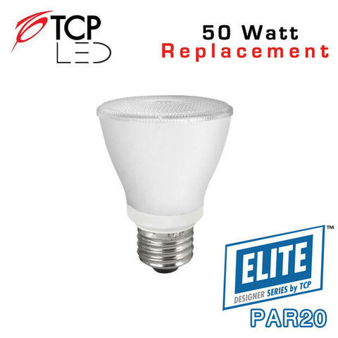 TCP Elite Designer PAR20 - 8 Watt - 50 Watt Equal