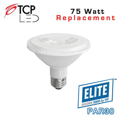 TCP Elite Designer PAR30 Short Neck - 12 Watt - 75 Watt Equal