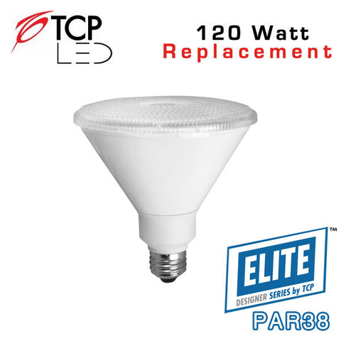 TCP Elite Designer PAR38 - 17 Watt - 120 Watt Equal