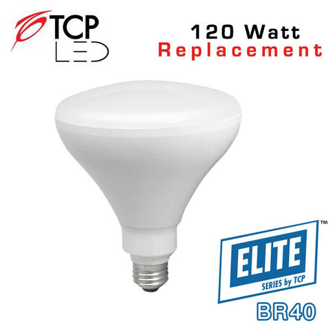 TCP Elite BR40 - 17 Watt - 120 Watt Equal