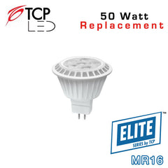 TCP Elite MR16 - 7 Watt - 50 Watt Equal