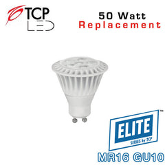 TCP Elite MR16 GU10 - 7 Watt - 50 Watt Equal