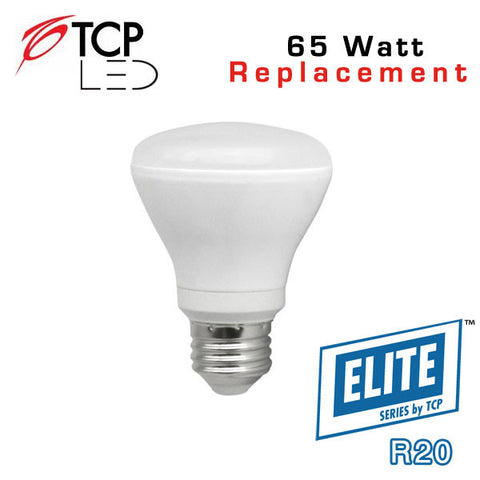 TCP Elite R20 - 10 Watt - 65 Watt Equal