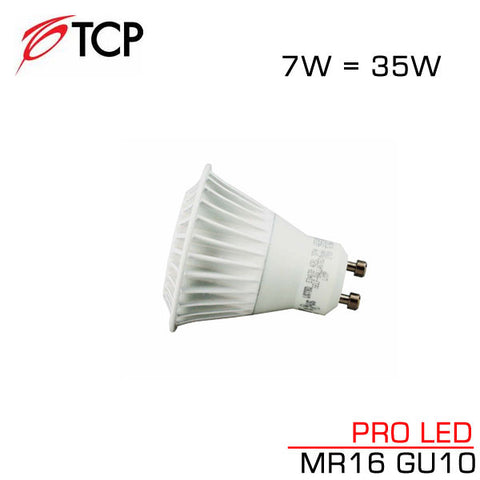 *Clearance* TCP PRO LED MR16 - 7 Watt - GU10 Base