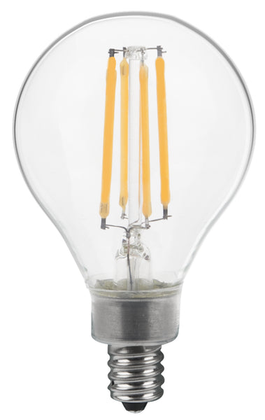 Thinklux Filament Led G16 5 2 Inch Globe Edison Style
