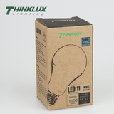 Thinklux High Output Omni-Directional - A19 LED Light Bulb - 11 Watt - 75 Watt Equal - Energy Star Qualified - Dimmable - Shatterproof
