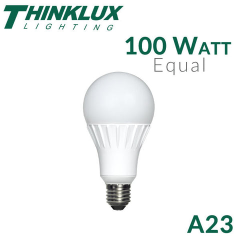 Thinklux A23 LED Light Bulb  - 16.5 Watt - 100 Watt Equal - Dimmable