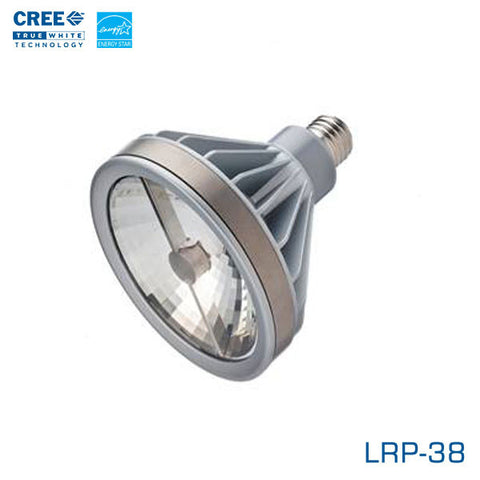 CREE LRP-38 - 11 Watt LED PAR38 - 20 Degree Flood- Edison Base - 2700K - Energy Star LED Light Bulb