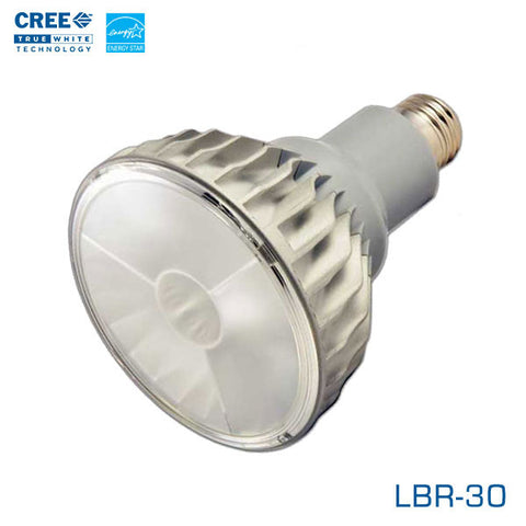 CREE LBR-30 - 12 Watt LED BR30 - 25 Degree Flood- Edison Base - 2700K