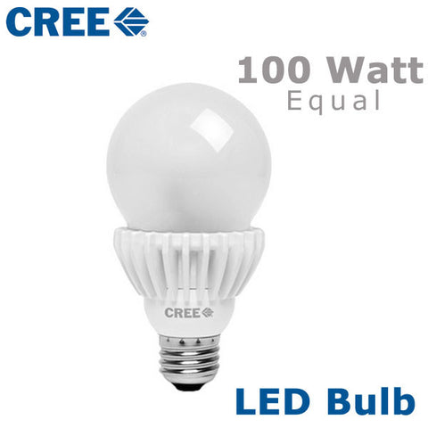 CREE LED Bulb - 18 Watt - 100 Watt Equal