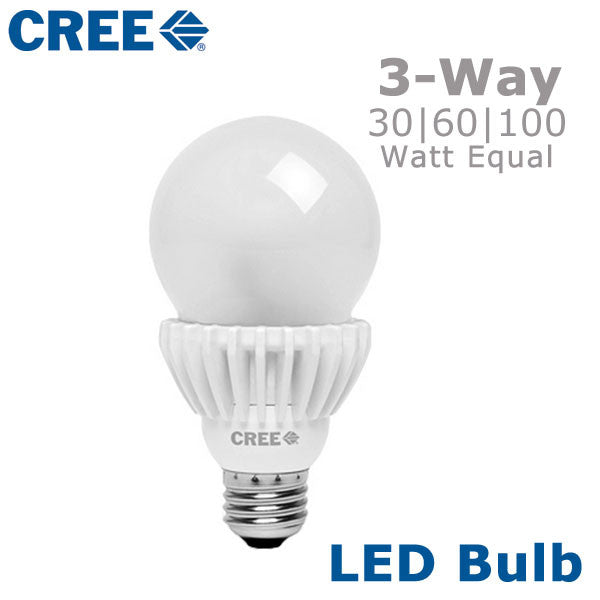 4ft Led Shop Light >> CREE LED 3-Way Light Bulb Three Way Switched Bulb – EarthLED.com