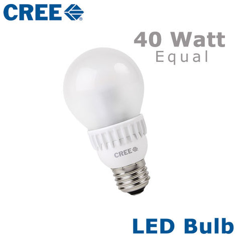 CREE LED Bulb - 6 Watt - 40 Watt Equal
