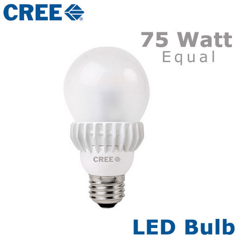 CREE LED Bulb - 13.5 Watt - 75 Watt Equal