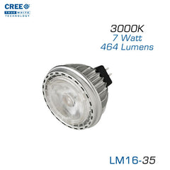 CREE LM16 - 35 Watt Equal - LED MR16