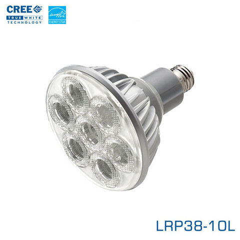 CREE LRP38-10L - 13.5 Watt LED PAR38 - 25 Degree Flood- Edison Base - 2700K - Energy Star LED Light Bulb