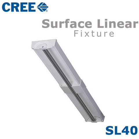 "CREE SL40 40"" LED Surface Linear"