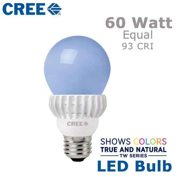 cree tw series led a19 bulb 13 5 watts 60 watt equal. Black Bedroom Furniture Sets. Home Design Ideas