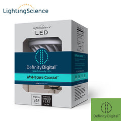 Lighting Science MyNature Coastal Turtle Light - 13 Watt - 65W Equal - 1500K - PAR30 Short Neck