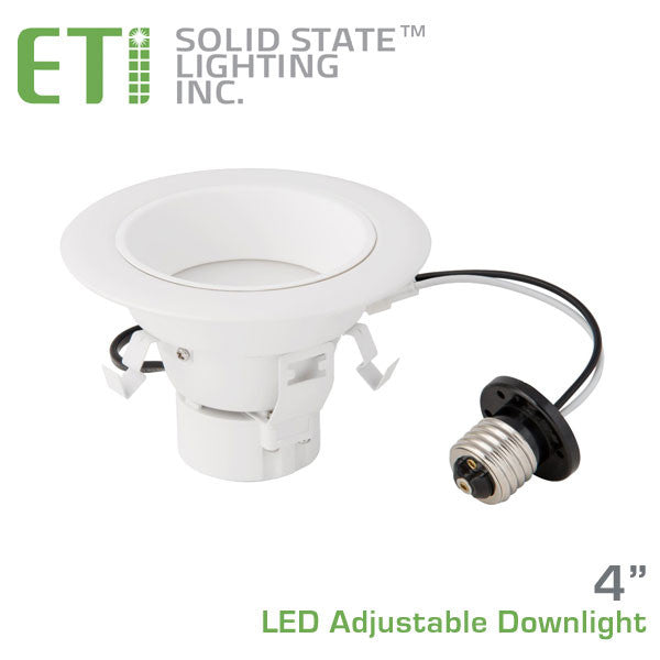 Eti 4 Inch Led Adjustable Downlight 53116102 Earthled Com