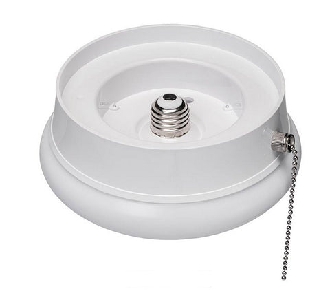 Superior ETi 7 Inch Spin Light LED Flushmount Fixture With Pull Chain