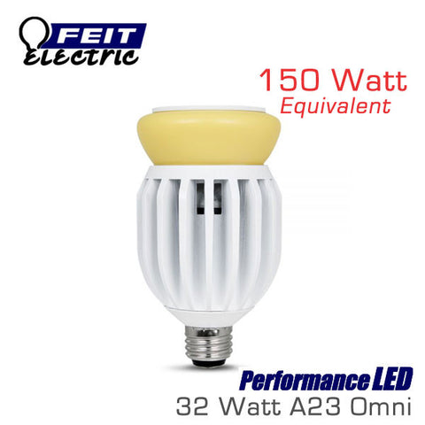 FEIT PerformanceLED A23 Omni-Directional - 32 Watt - 2200 Lumens - 150 Watt Equal