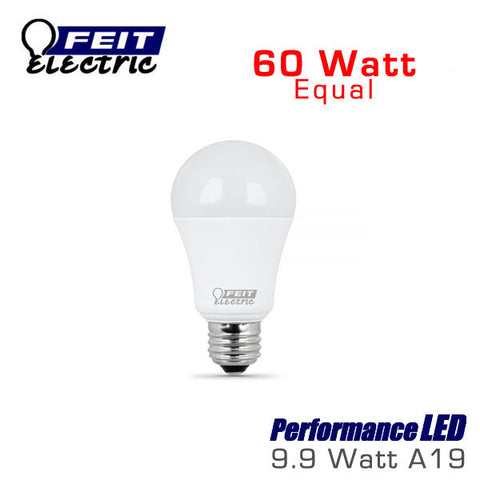 FEIT PerformanceLED A19 LED Bulb - 9.9 Watt - 60 Watt Equal