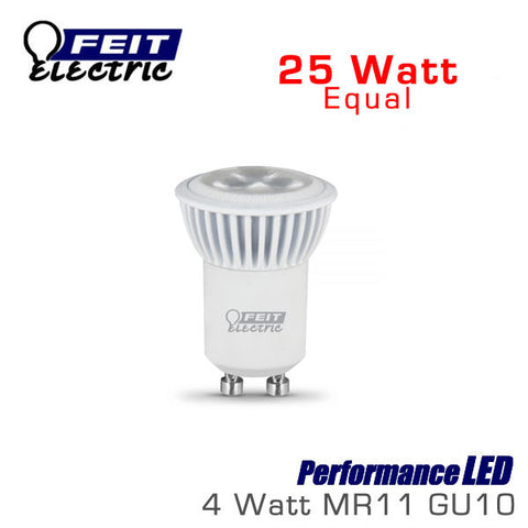 FEIT PerformanceLED MR11 GU10 - 4 Watt - 25 Watt Equal