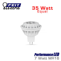 FEIT PerformanceLED MR16 - 7 Watt - 325 Lumens - 3000K - 35 Watt Equal