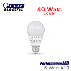 FEIT PerformanceLED 7.5 Watt A19 Omni-Directional 40 Watt Replacement