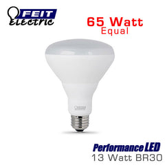 FEIT PerformanceLED BR30 - 13 Watt - 750 Lumens - 65 Watt Equal