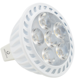 GREEN CREATIVE - CRISP - MR16 - 7.7 Watt - 75 Watt Equal - High CRI - Dimmable - Suitable for Fully Enclosed Fixtures - Narrow Flood / Flood