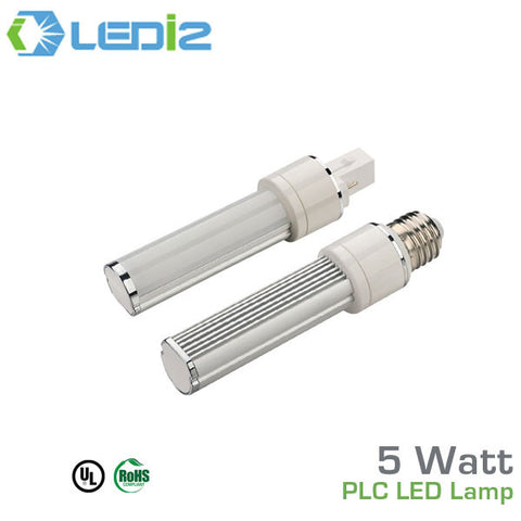 LEDi2 - 5 Watt - 500 Lumens - PL Series - CFL Replacement Lamp