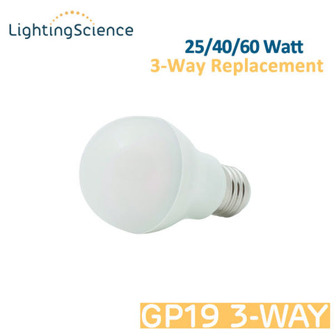 Lighting Science 3 Way LED Bulb