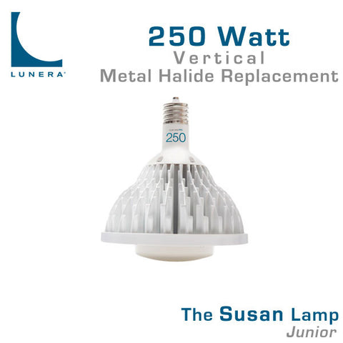 Lunera Susan Lamp Junior 250 Watt Metal Halide Replacement