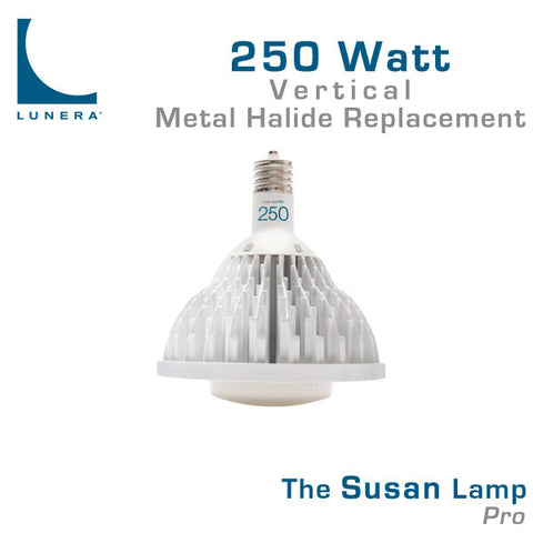 Lunera Susan Lamp Pro 250 Watt Metal Halide Replacement